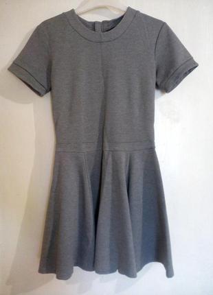 Замечательное серое  платье от h&m