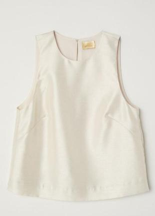 Блузка рубашка топ h&m
