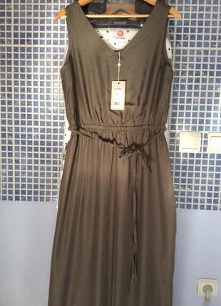 Макси сарафан minimum хаки летний платье