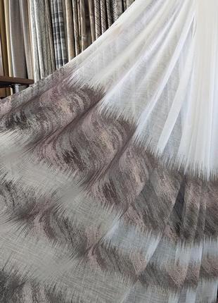 Стильный трендовый тюль