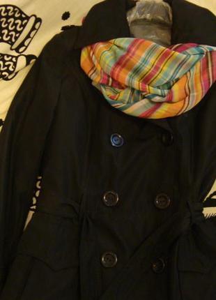 Куртка плащ демисезон