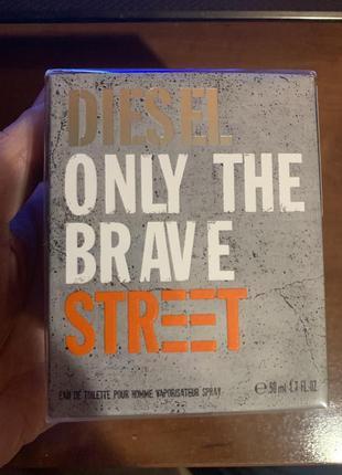 Мужской парфюм diesel only the brave, 50мл