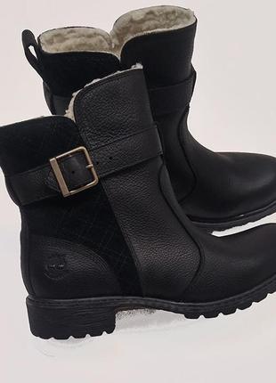 Зимние кожаные ботинки timberland оригинал из сша