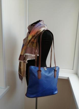 Кожаная итальянская сумка vera pelle