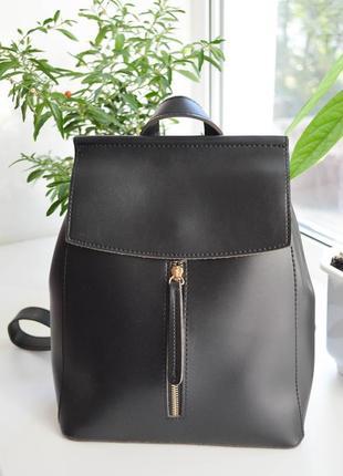 Вместительные рюкзаки-сумки из эко-кожи