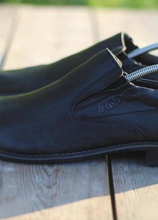 Стильные кожаные туфли ам германия