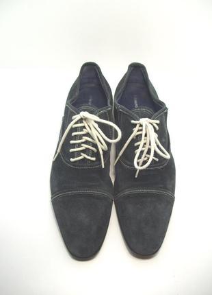 Мужские замшевые туфли р. 45