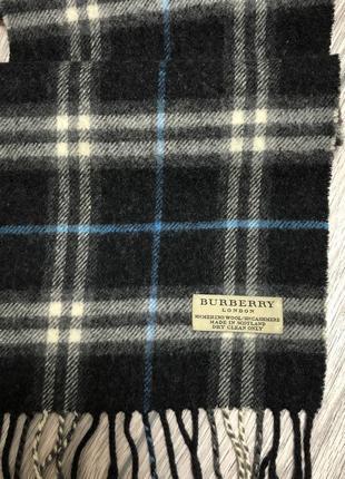Кашемировый шарф burberry london