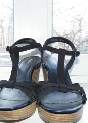 Женские сандалии-graceland-40/25 см3 фото