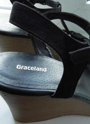 Женские сандалии-graceland-40/25 см7 фото