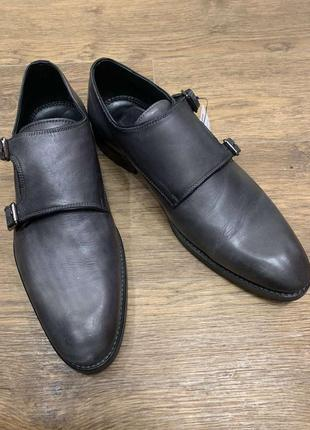 Мужские туфли 27.5 монки