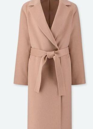 Шикарное шерстяное пальто uniqlo!