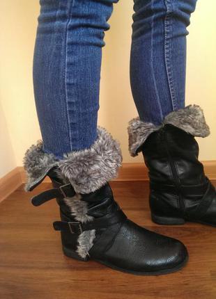 Стильні  демосезонні чоботи atm