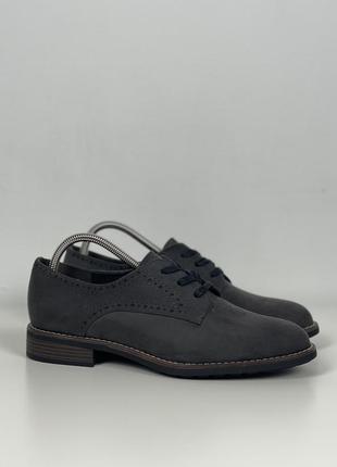 Туфли 42 graceland original стильные 27см броги оксфорды классика
