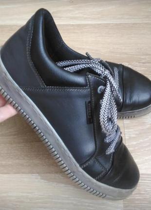 Кожаный кеды, криперы, туфли 36 р.