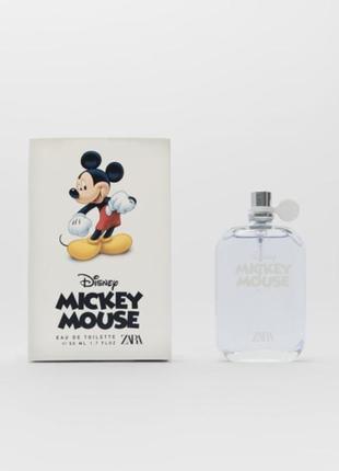 Туалетна вода mickey mouse zara