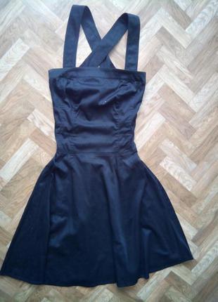 Новое красивое летнее платье/сарафан с юбкой солнце zara