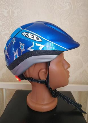 Велосипедный шлем ked im-tec германия 51-57 защитный шлем шолом