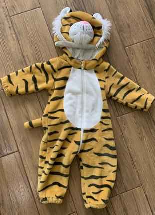 Комбинезон тигрик тигр костюм тигра