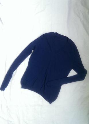 Базовый свитер джемпер глубокого синего цвета