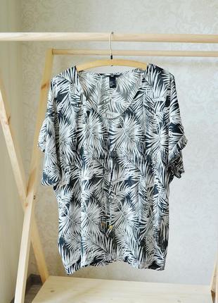 H&m пляжная накидка, туника, парео, пляжное платье, пляжный сарафан