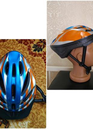 Защитный шлем для взрослого велосипедный для роликов 54-56