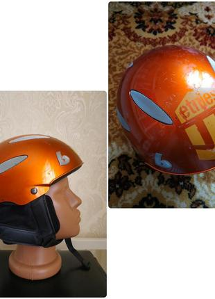 Горнолыжный, сноубордический детский шлем boeri, италия 50-53 объем