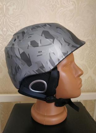 Шлем лыжный hypergrip in-mold горнолыжный шлем сноубордический 49-54 защитный шлем