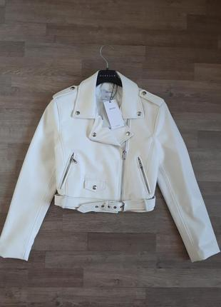 Укорочённая куртка косуха bershka new 2017