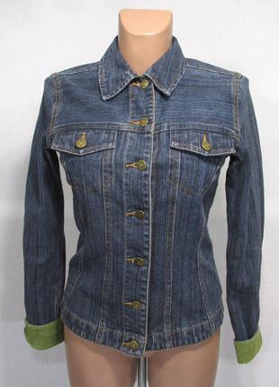 Куртка джинсовая laura ashley, 34 (8), как новая!