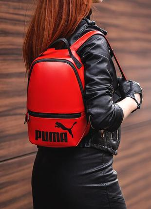 Стильный небольшой рюкзакиз качественной кожи pu
