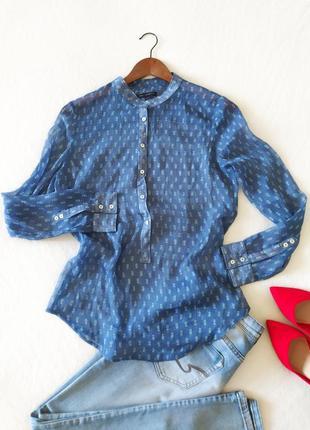 Струящаяся рубашка блуза mango