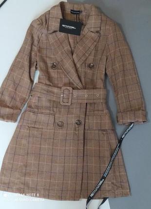 Шикарное невероятное трэндовое  платье пиджак