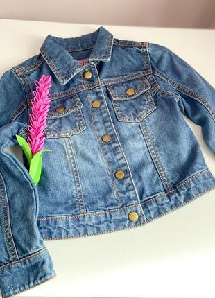 Базовая джинсовая курточка на девочку
