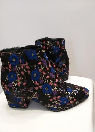 Ботиночки в цветочный принт