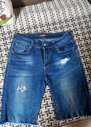 Шорты джинсовые 29 размер