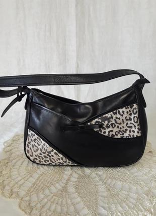 Кожаная сумочка clarks