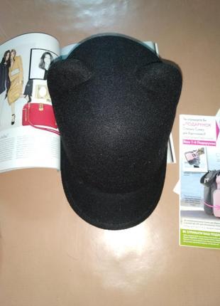 Новая кепи с ушками