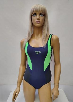 Спортивный купальник в размерах