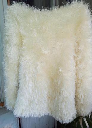 Неймовірний светр-травка hand-made#чудовий пастельний колір#дуже теплий