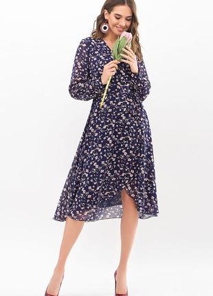 Платье - шифон принт (в расцветках)