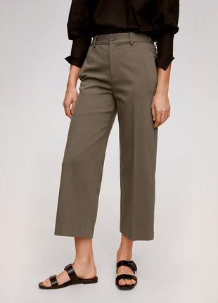 Котоновые брюки кюлоты