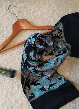 Елегантний стильний чоловічий шарф 🖤