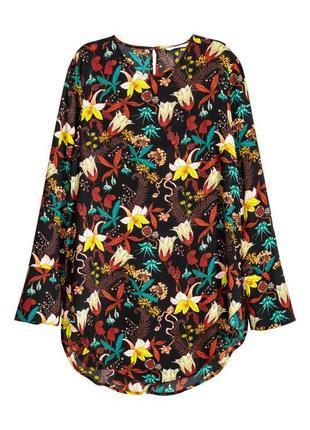Красивая блуза принт от h&m