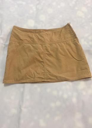 Спідниця юбка вельветовая h&m