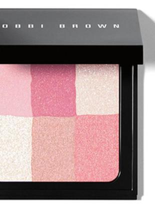 """Многофункциональная пудра bobbi brown brightening brick  оттенок """"pastel pink"""""""