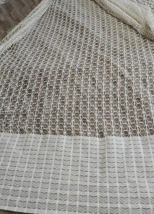 Тюль, занавеска сетка