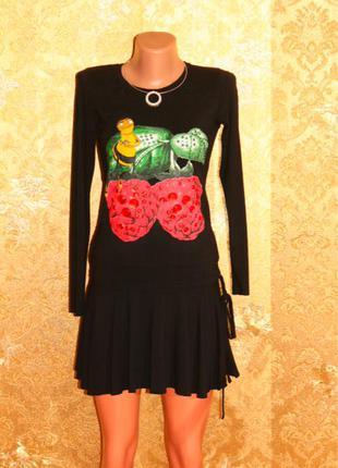 Черное платье с длинным рукавом, вещи в наличии💚+скидки, заходите💚