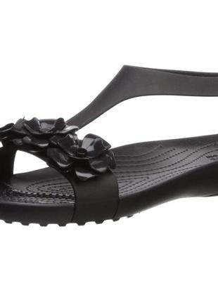 Женские босоножки crocs подростковые летние сандалии для девочки оригинал