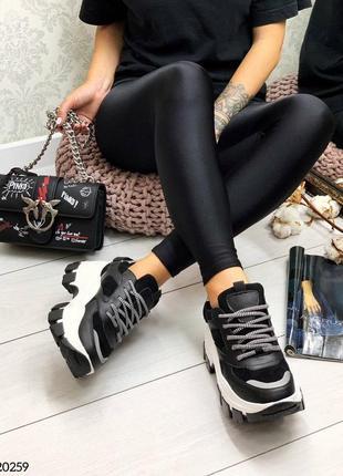 Стильные кроссы чёрные